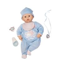 Кукла Zapf Creation Baby Annabell 792-827 Бэби Аннабель мальчик с мимикой 46 см
