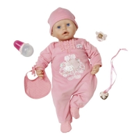 Игрушка Zapf Creation Baby Annabell 794-036 Бэби Аннабель Кукла с мимикой 46 см