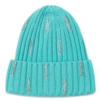 Нежно мятная шапочка для девочки sh1529 Chobi