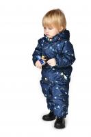 Весенний комбинезон для мальчика PreMont цвет темно-синий
