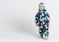 Демисезонный комбинезон Крокид для мальчика цвет серо-голубой