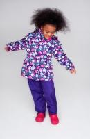Комплект PreMont утепленный демисезонный на девочку цвет сиреневый