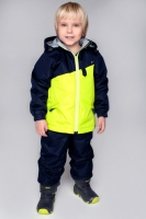 Комплект PreMont утепленный демисезонный на мальчика цвет синий