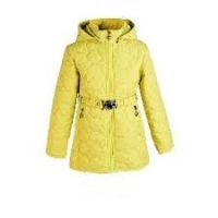 Куртка Crockid утепленная демисезонная на девочку цвет лимонный
