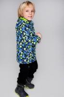 Куртка ветровка PreMont мембранная демисезонная на мальчика цвет синий с салатовым