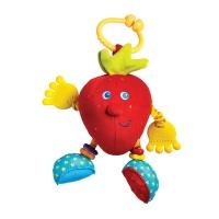 Развивающая подвесная игрушка клубничка Салли серия Друзья фрукты