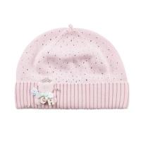 Шапка хлопковая для девочки Chobi chic SH-1006 цвет розовый