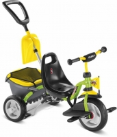 Трехколесный велосипед Puky CAT 1SP 2445 зеленый/желтый 2016г