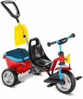 Трехколесный велосипед Puky CAT 1SP 2459 красный/голубой 2016г