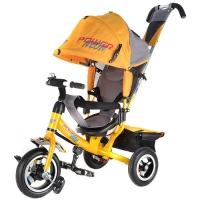 Велосипед трехколесный Трайк NЕОН JP7NO надувные колеса цвет оранжевый